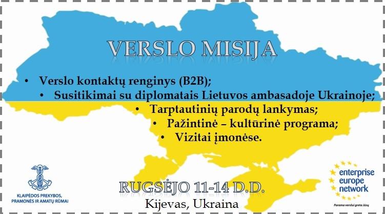 Verslo misija Ukraina
