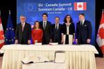 Europos Sąjungos ir Kanados prekybos susitarimu nustatomi aukšti pasaulio prekybos standartai