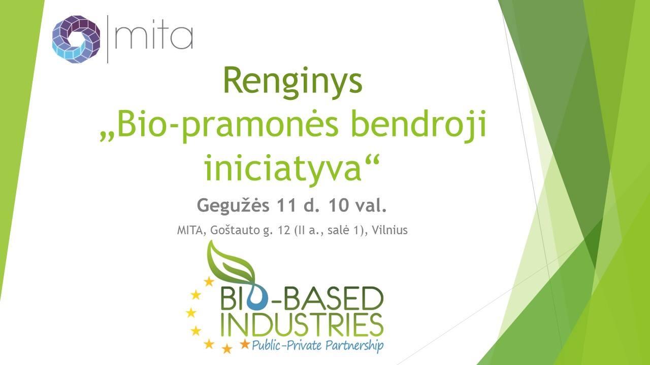Bio-pramonės bendroji iniciatyva